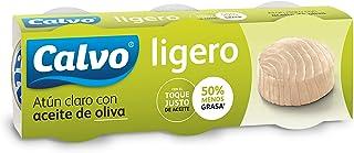 comprar comparacion Calvo Atún Claro, Aceite de Oliva - 5 Paquete de 3 Latas