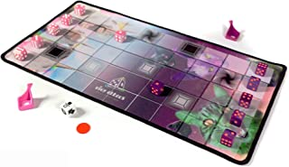 DICE Attack - Board Game | Dice Game | Battle Strategy Game with 12 Custom pip dice, 8 Cards, Carry Bag and playmat ( Sing...