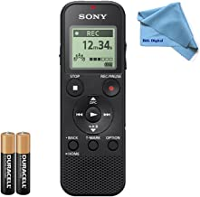 Sony ICD-PX370 Digital Voice Recorder with USB - 4GB ( Replacement ICD-PX333 )