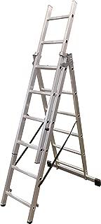 Arcama 3T06 Escalera transformable 3 tramos, 6 peldaños