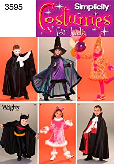 Simplicity Sewing Pattern 3595 Child Costumes, A (3-4-5-6-7-8)