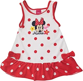 817b0159fa3b Minnie Mouse Disney Girls Infant Toddler Terry Cover-up Dress Red Dot