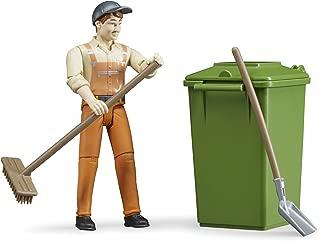 Bruder Figure-Set Waste Disposal Vehicles - Toys