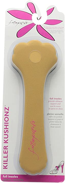 Foot Petals Killer Kushionz 3-Pair Pack