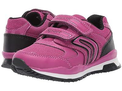 Geox Kids Jr Pavel 5 (Toddler) (Fuchsia/Black) Girls Shoes