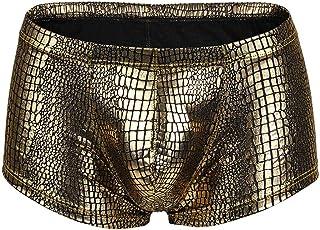 UNSKAM Bikini Underwear Odor Control Breathable for Men Summer Sport Comfortable Cheeky Briefs Pouch Sleepwear Cotton Unde...