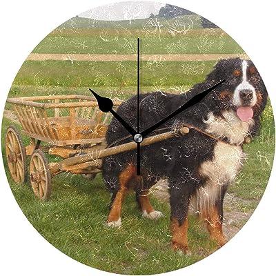 3dRose dpp/_4038/_2 Bernese Mountain Dog Wall Clock 13 by 13-Inch