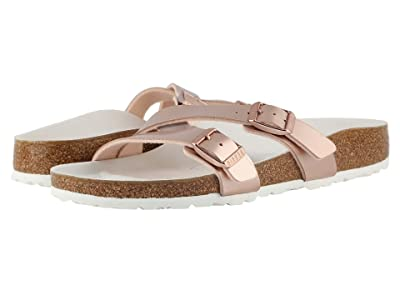 Birkenstock Yao (Metallic Copper Birko-Flor) Women
