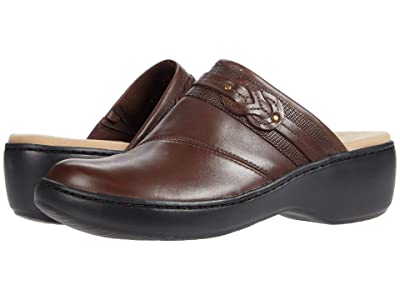 Clarks Delana Juno (Dark Brown Leather) Women