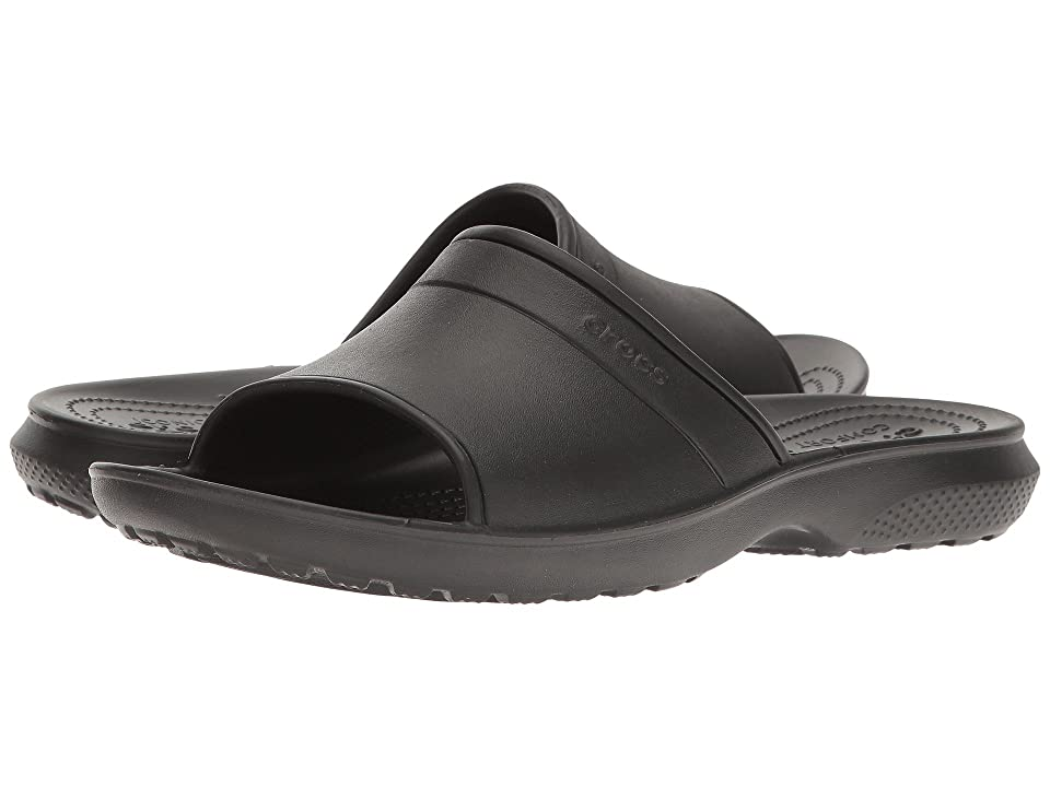 Crocs Classic Slide (Black) Slide Shoes