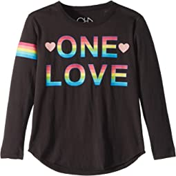 Soft Vintage Jersey One Love Tee (Little Kids/Big Kids)