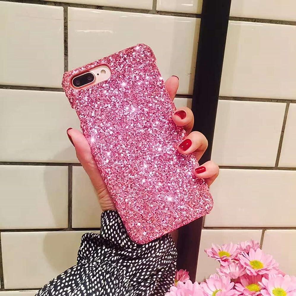 預言者からピケiPhone 6プラス、iPhone 6s Plusケース、IKASEFUフラッシュパウダーBack耐衝撃高級SleekグリッターキラキラBlingキュートShiny PC薄型バンパー保護カバーfor iPhone 6?Plus / 6s Plus ピンク IKASEFU00005520