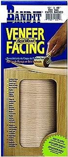 Band-It 12910 Paper Back Real Wood Veneer Facing, Red Oak, 12