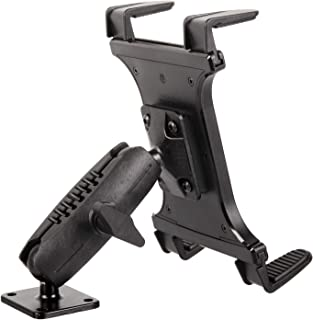 """Heavy Duty Drill Base Tablet Mount - TACKFORM [Enterprise Series] - 3.75"""" iPad Holder for Wall or Truck. ELD Mount for Dev..."""
