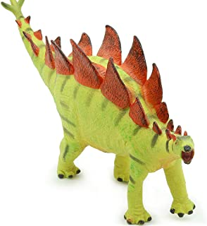 Stegosaurus Toy Dinosaur Action Play Figure   Realistic 10 Inch Large Dinosaur Toys for 4+ Year Old Boys Girls Kids   9/9 Dino Toy Figurines to Collect