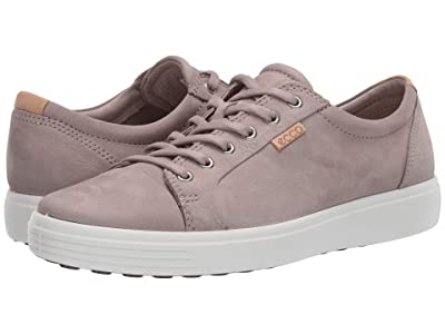 ECCO Soft 7 Sneaker (Warm Grey/Powder) Men