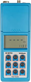 Hanna Instruments HI 98703 Portable Turbidity Meter, with Fast Tracker Technology, EPA Compliant