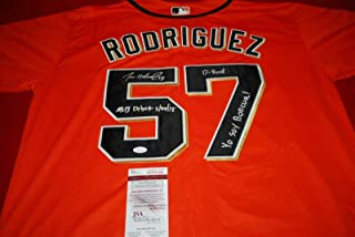 Dereck Rodriguez Autographed Jersey - beckett witnessed - Beckett Authentication - Autographed MLB Jerseys