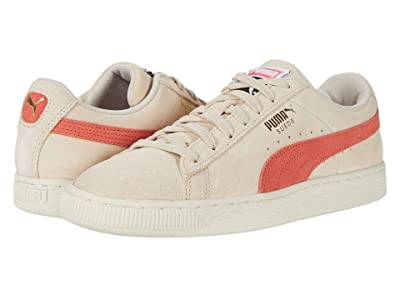 PUMA Suede Classic (Tapioca/Hot Coral) Shoes