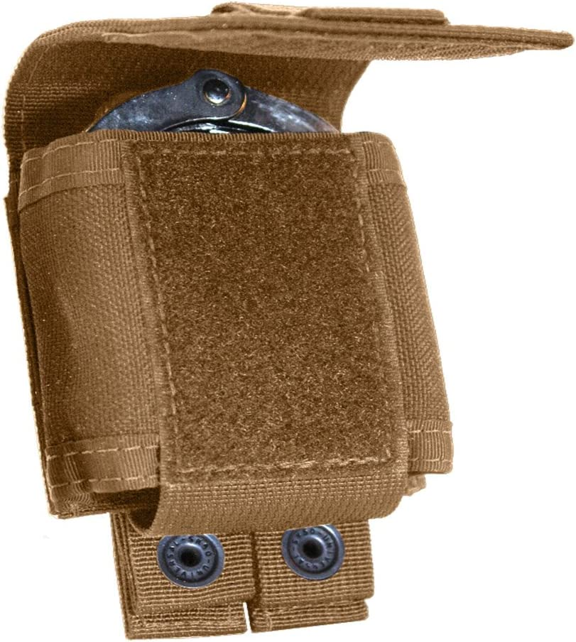 overseas Tac At the price Shield T4055CY Single Cuff Belt Coyote Case Pouch