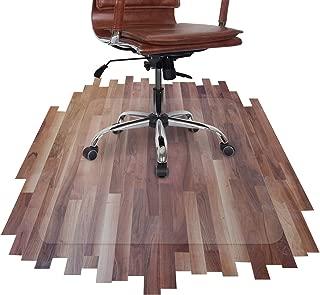 Mitefu Tapis prot/ège-Sol en PVC pour Chaise ou Table rectangulaire et r/ésistant /à lusure /épaisseur de 1.5mm,90x90cm la Protection pour Sols Durs et Parquets