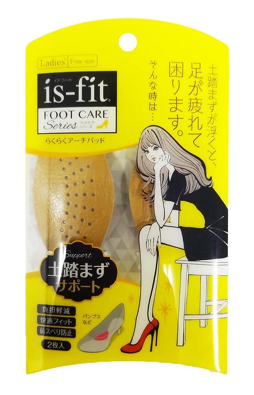 香港災害遺体安置所is-fit(イズフィット) らくらくアーチパッド 2枚入