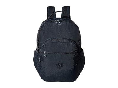 Kipling Seoul XL Laptop Backpack (Blue/Blue) Backpack Bags