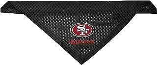 Littlearth San Francisco 49ers Dog Cat Mesh Jersey Bandana S/M