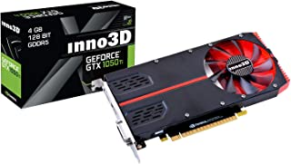Inno3D N105T2-1SDV-M5CM - Tarjeta gráfica (GeForce GTX 1050 Ti, 4 GB, GDDR5, 128 bit, 7680 x 4320 Pixeles, PCI Express x16 3.0)