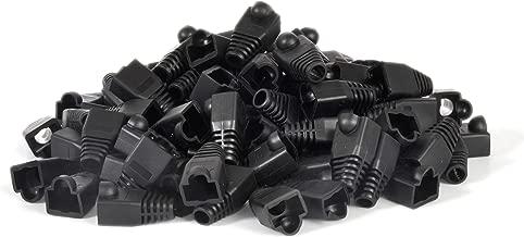 RJ45 Strain Relief for Ethernet Cables (Regular, Black)