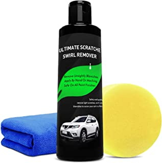 Manelord Scratch Remover - Car Scratch Remover with Car Care Cloth, Sandpaper, Scratch Polishes for Scratch Removal, Metal Scratch Polishing Restore