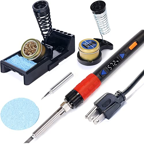 popular YIHUA 928D III Hand Soldering Iron bundle with X-4 Premium Soldering Iron Holder (back-up 2021 option) (8 online sale items) online