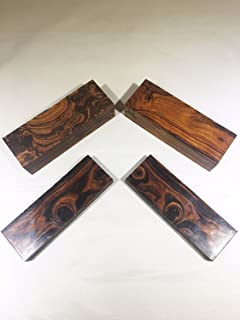 IECAP LLC Exotic Ironwood Blanks from The Sonoran Desert. (Set of 5) Dimensions 5 1/8 x 1 3/4 x 1 1/4 in