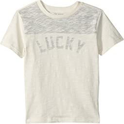 Lucky Brand Kids - Short Sleeve Color Block Tee (Little Kids/Big Kids)