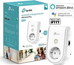 TP-Link RE270K - Enchufe Inteligente y repetidor Extensor de Red WiFi (750Mbps, casa automatizada, App Control, Android e iOS, WiFi, Compatible con Amazon Alexa)
