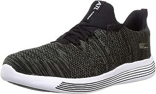ACTION Men's Atg-75-Black-Olive_7 Black Trekking Shoes-7 UK (41 EU) (ATG-75-BLACK-OLIVE)