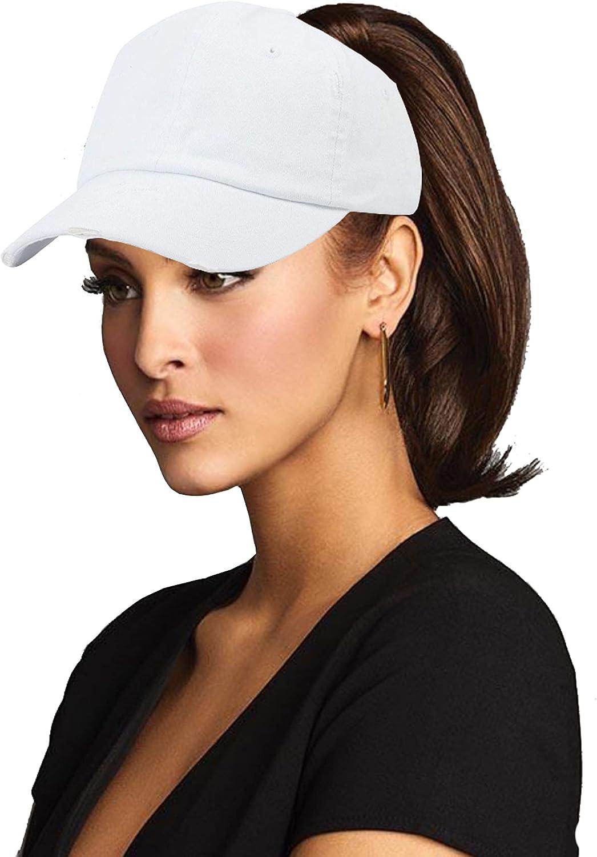 UTOWO Ponytail Hats Unconstructed Baseball Messy Oakland Mall Women B Austin Mall Cap for