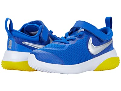 Nike Kids Project POD (Infant/Toddler) (Game Royal/Metallic Silver/Speed Yellow) Kid