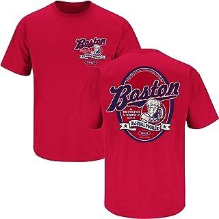 c22323c00 Smack Apparel Boston Baseball Fans. Boston Drinking Town Red T-Shirt (Sm-