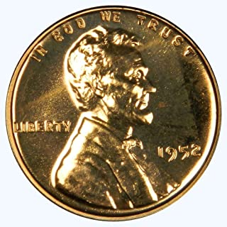 1952 Lincoln Wheat Penny Proof