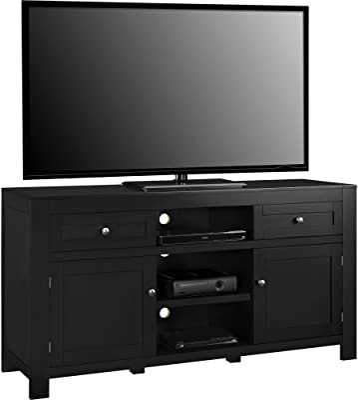 Ameriwood Home Hadley TV Stand, Black