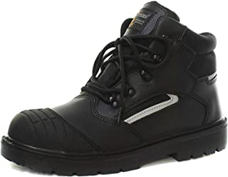 Grafters M850A Unisex Hiker Safety Boots Black