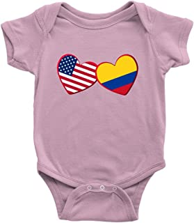 Colombian and American - Infant Bodysuit Baby Romper