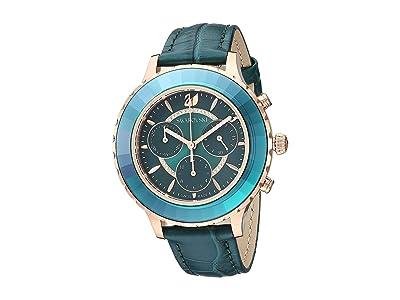 Swarovski Octea Lux Chrono Watch (Green) Watches