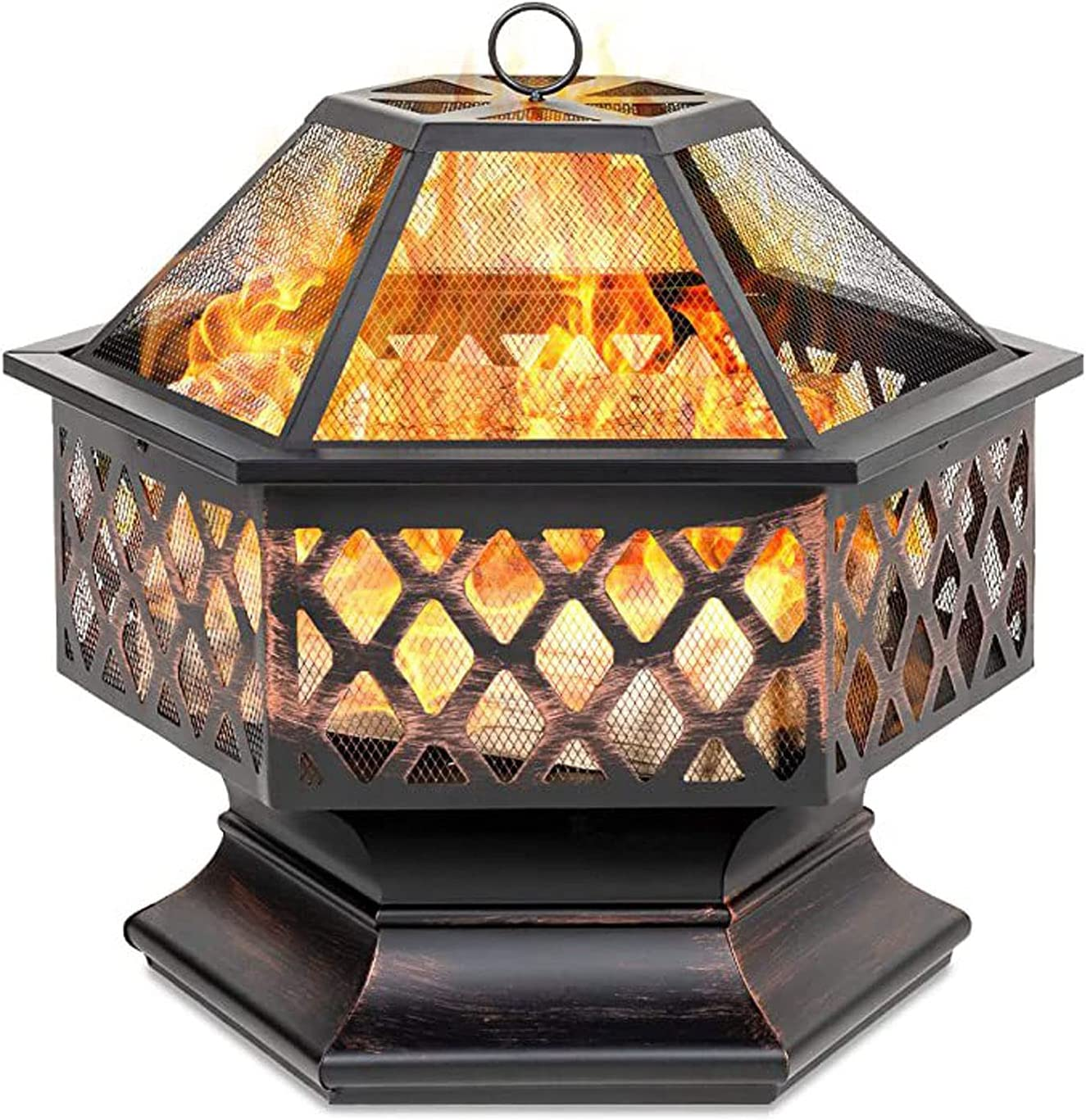 KYCD trust Wood Burning 2021 autumn and winter new Patio Firebowl Fire Large Pit Out