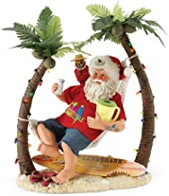 "Department 56 Possible Dreams Santa Claus ""Wastin' Away Again"" Clothtique Figurine, 12"
