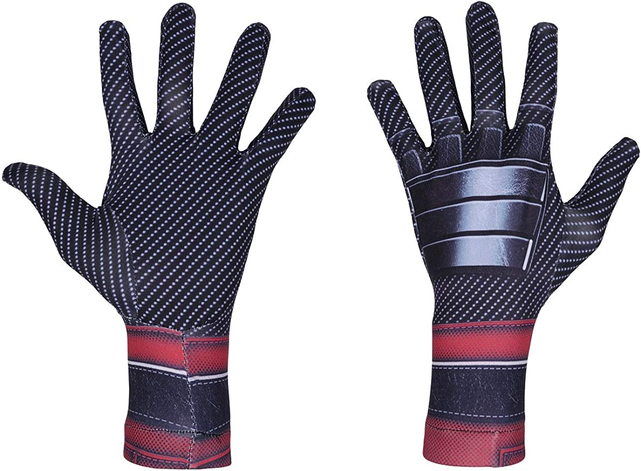 QJD Superhero Spider Gloves Adult Child Costume Accessories