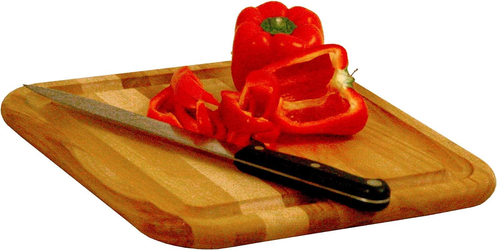 Catskill Craftsmen 13711 Catskill CraftsmenSquare W Groove Single Cutting Board One Size Wood