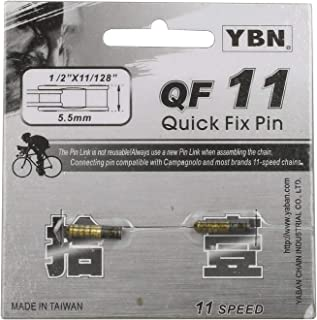 YBN 2 x Bike Bicycle Chain Quick Fix Connection Pins Compatible with Shimano 11 Speed