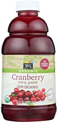365 Everyday Value, Organic 100% Juice from Concentrate, Cranberry, 32 fl oz